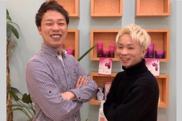 地域密着型美容室・ヘアメイクアージュ久留米ゆめタウン店のスタッフ 椎葉陸人ってどんなスタッフ?