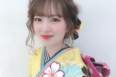 福岡の美容室age(アージュ)の2020年 成人式レポート*2021年の成人式のご予約受付も開始しています♪ 着付け、ヘアセット、ネイルのご紹介*