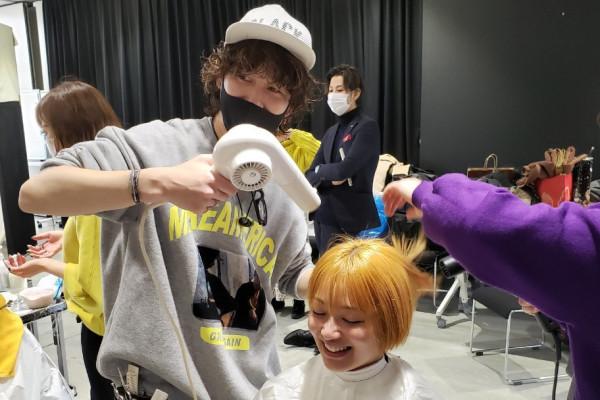 【JHCA SUPER DIGITAL LIVE CONTEST 2021】8名のカラーリストで動画撮影!コンテスト作品づくりの様子をご紹介☆福岡の美容室HAIR MAKE age(ヘアメイクアージュ)