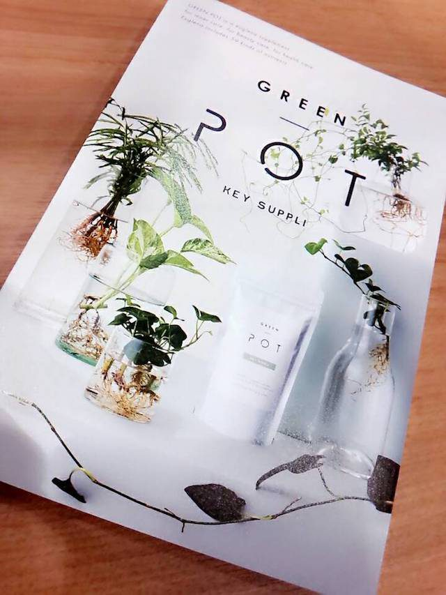 GREEN POT キーサプリ